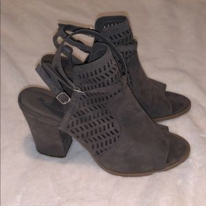 American Eagle Outfitters Shoes - American Eagle Grey Wedges